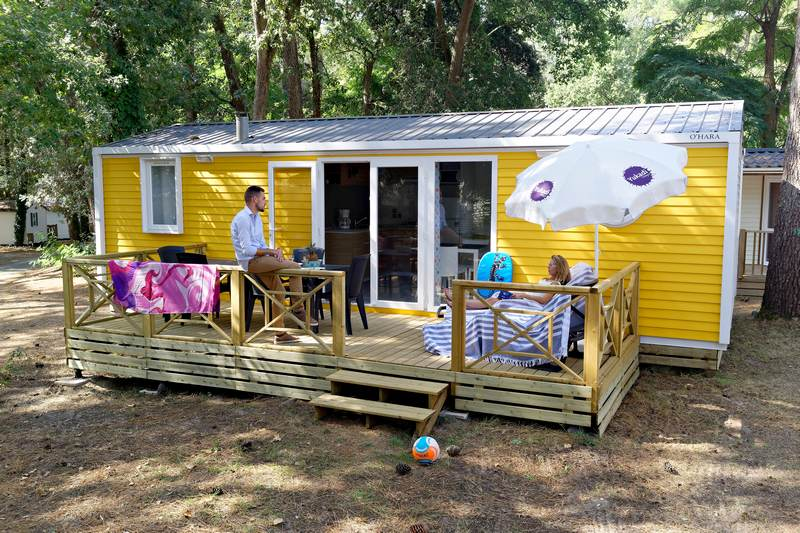 Logis mobil home 3 chambres 6p
