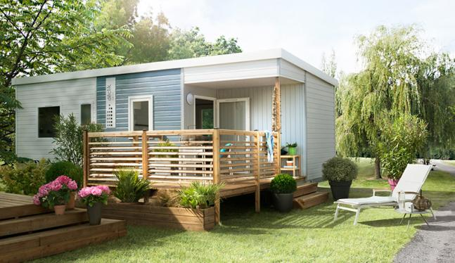 Capucines Mobil home 3 chambres 6