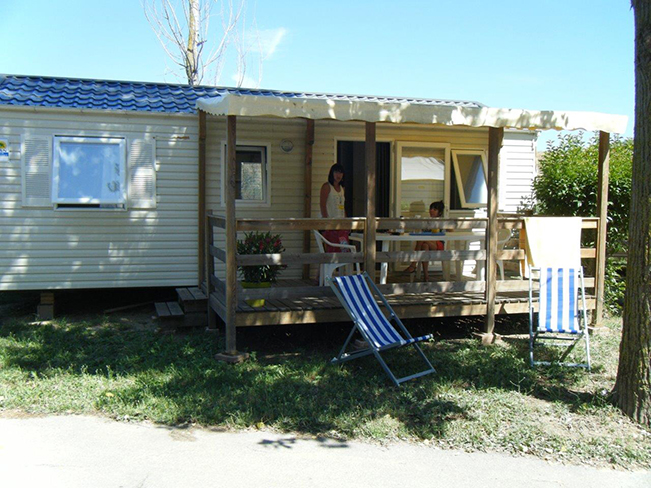 Oasis palavasienne mobil home 2ch 4/6