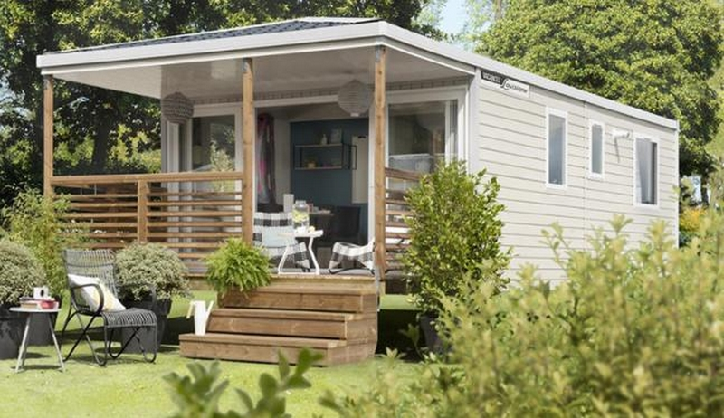 Marsouins Mobil home 2 chambres 4