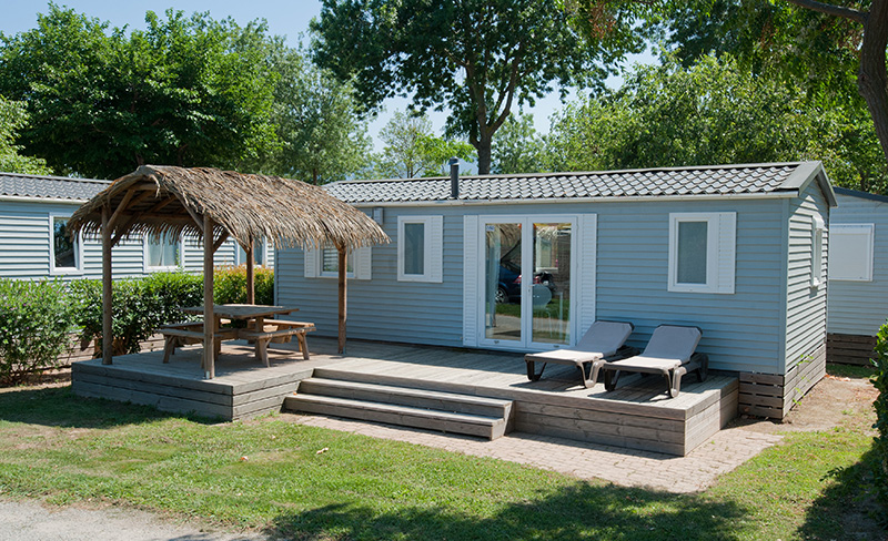 Marsouins Mobil home 3 chambres 6