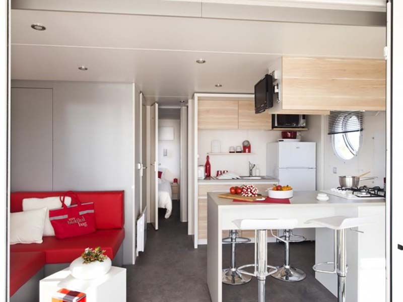 Rives de l'Adour Mobil home 2 ch 5/7