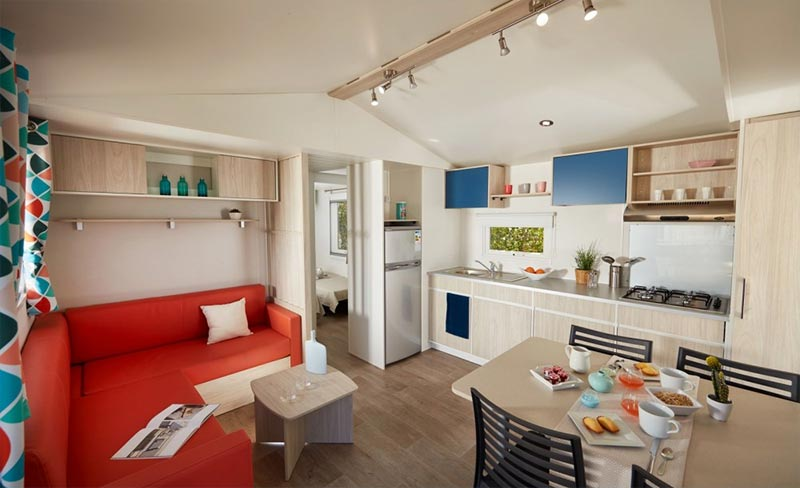 Kersentic mobil home 3 chambres 6